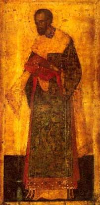 Свети Јован Златоусти (икона XIV век)