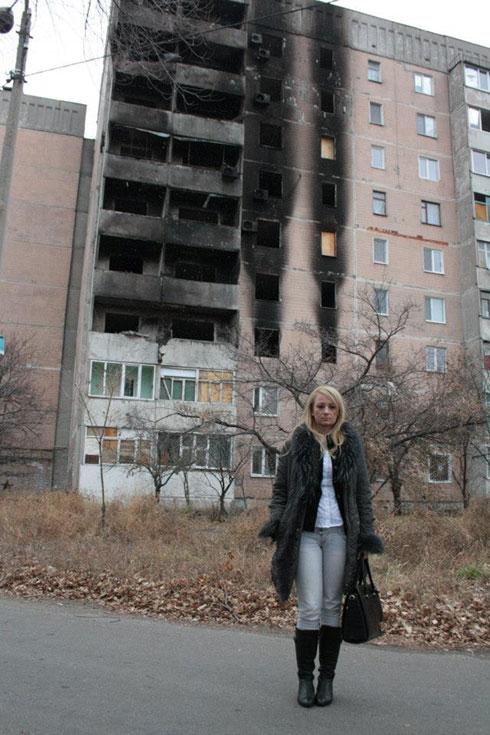 Драгана Трифковић у Луганску