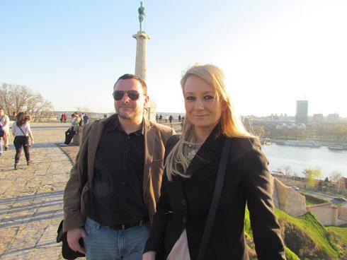 Мануел Оксенрајтер и Драгана Трифковић у Београду