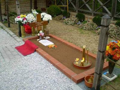гроб старца Пајсија