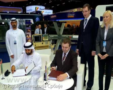 Потписивање уговора са Емиратима о заједничком развоју и опремању ракетног система АЛАС
