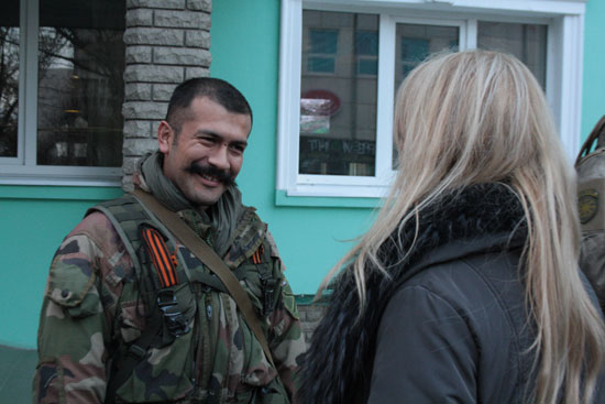 Драгана Трифковић и Виктор Алфонсо у Луганску