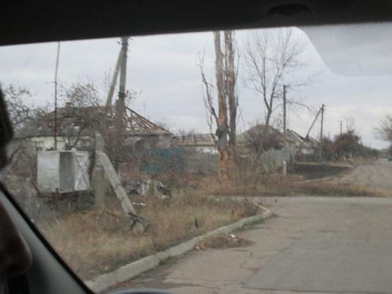 Хрушјавата – уништене куће