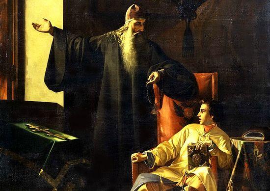 Павел Плешанов: Цар Иван Грозни и јереј Силвестар за време великог московског пожара 24. јуна 1547. године