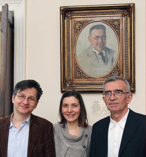 Учесници трибине: Милош Ковић, Александра Нинковић Ташић и