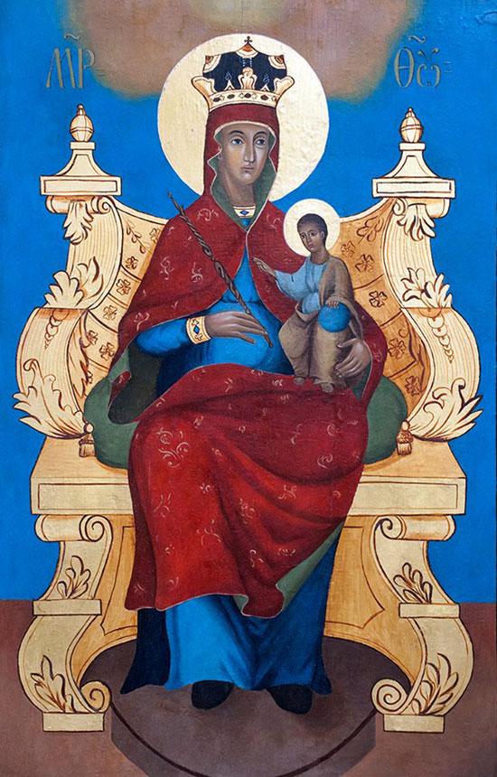 Богородица смедеревска - реплика