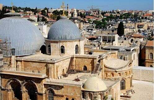 Храм Светог Гроба Господњег, у коме се налази и Храм Васкрсења
