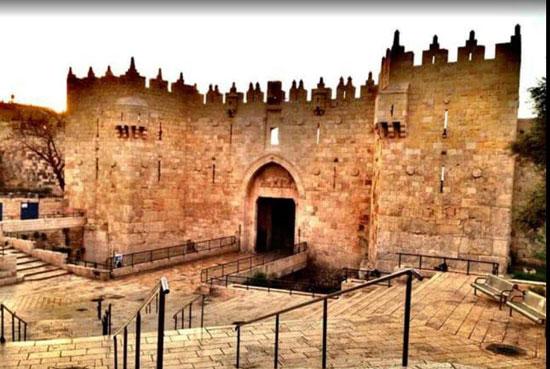 Свети Град Јерусалим - Дамаск капија