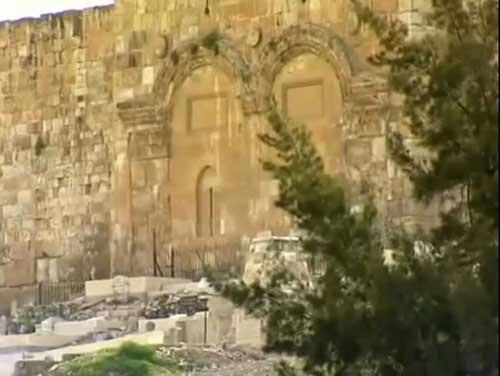Једна од капија зидина старог града Јерусалима, Златна Капија, по предању кроз ову капију ће Господ ући у Свети Град при Његовом Другом доласку