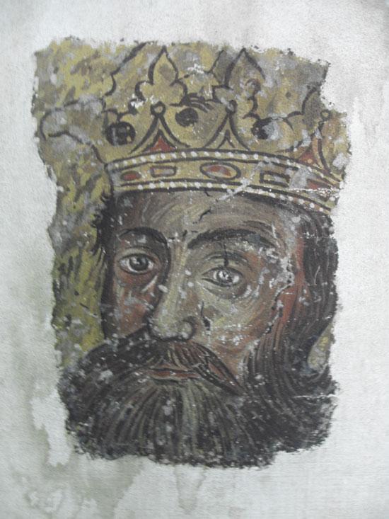 Кнез Лазар (фреска из Лазарице)
