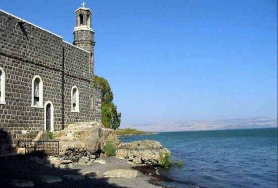 Манастир Светих Дванаест Апостола на обали Галилејског језера
