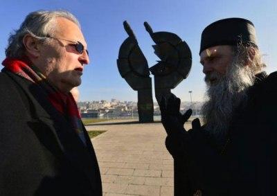 Ефраим Зуроф и Јован Ћулибрк (Фото: Танјуг)