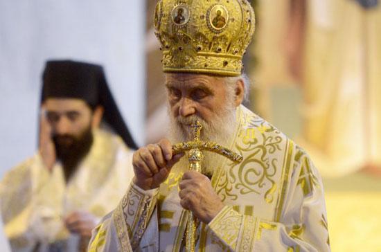 Патријарх Иринеј (Фото:Немања Панчић/Њузвик)