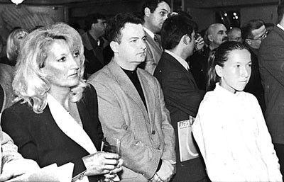 Као спортски функционер, са Јеленом Јанковић и њеном мајком