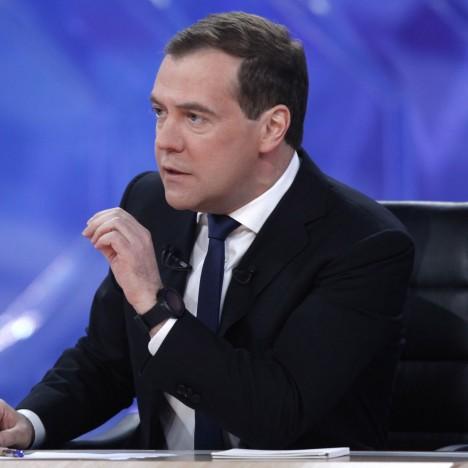 Дмитриј Медведев (Фото; АП/РИА Новости/Дмитри Астаков)