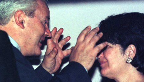 Слободан Милошевић и Мирјана Марковић (Фото: Ројтерс)