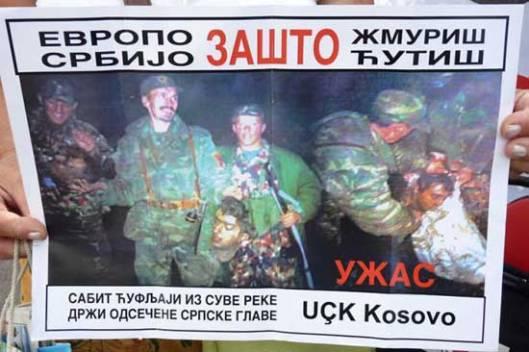 Фото: Удружење породица киднапованих на Косову