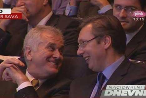 Томислав Николић и Александар Вучић (Архивска фотографија, извор: Пинк/Фејсбук)