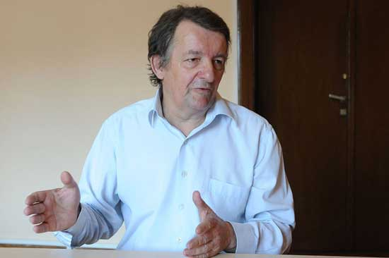 Вељко Ђурић Мишина, в. д. директора Музеја жртава геноцида