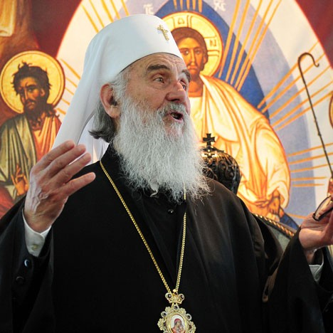 Патријарх СПЦ Иринеј (Фото: Танјуг/З.Ж.)
