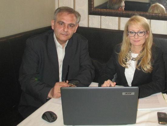 Горан Јевтовић и Драгана Трифковић