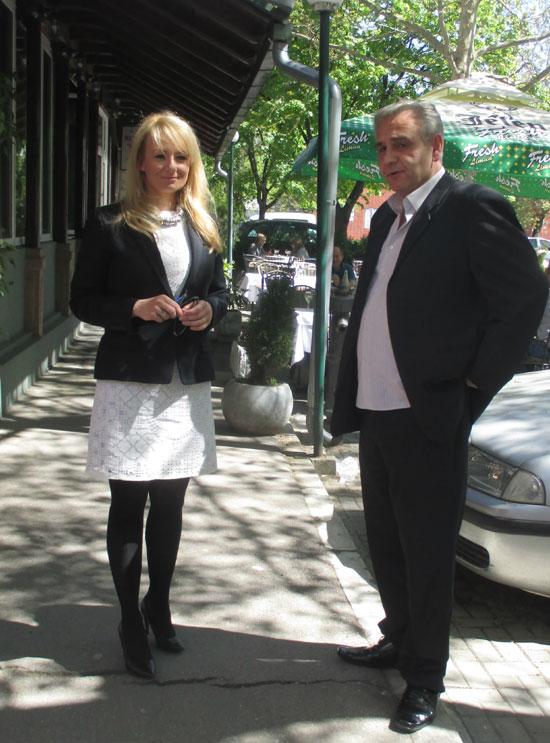 Драгана Трифковић и Горан Јевтовић