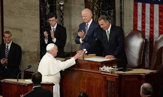 Папа Франциско у Конгресу САД