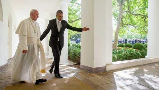 Папа Франциско и Барак Обама