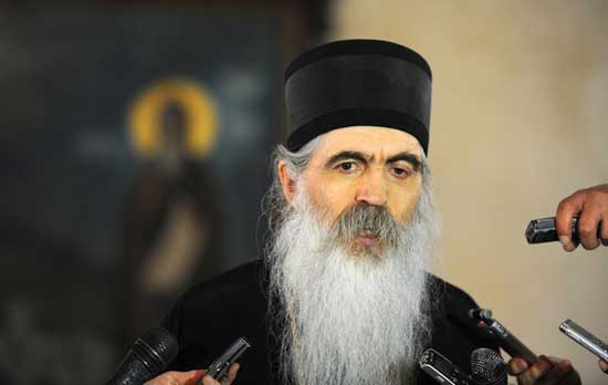 Епископ бачки Иринеј, портпарол СПЦ (Фото: Н. Неговановић)