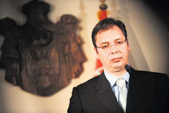 Премијер Србије својевољно је отишао у полицију да одговори на оптужбе Курира (Фото: Танјуг/Оксана Тоскић)