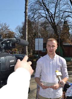 Илија Драшковић током једног интервјуа