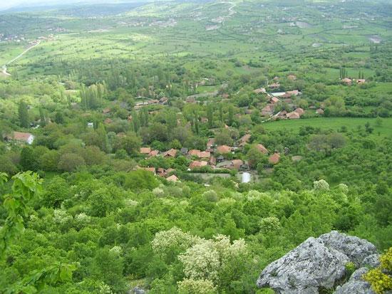 Село Бање, општина Србица