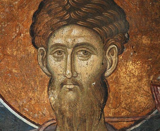 Свети великомученик Теодор Тирон. Манастир Високи Дечани. Србија, Косово, 14. в.