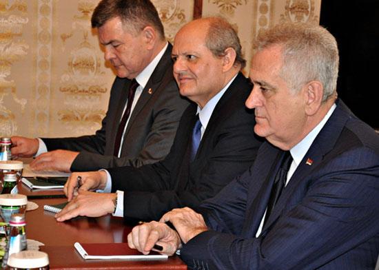 Президент Сербии Томислав Николич. Фото Елены Оганесян.