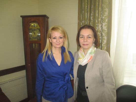 Драгана Трифковић и Татјана Легчилина