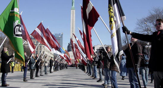Марш ветерена-легионара СС у Риги (Фото: Sputnik/ Оксана Ђадан)