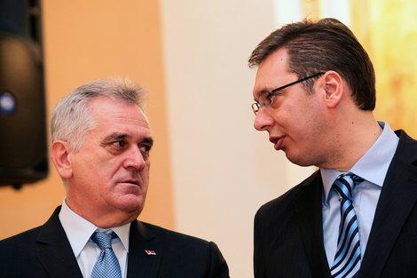 Николић и Вучић 2016. године