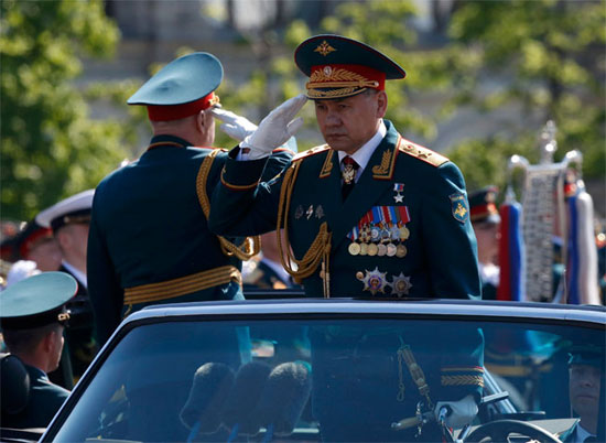Руски министар одбране Сергеј Шојгу (Фото: Ројтерс)