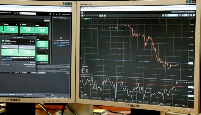 Eнглеска фунта је ноћас почела да пада на светској берзи (Фото: Ројтерс)