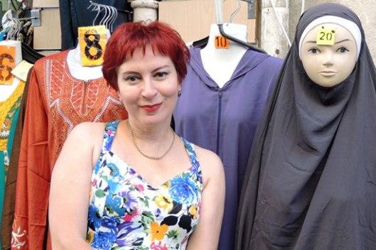 Дарја Асламова у арапском кварту Марсеја (Фото: Дарја Асламова)