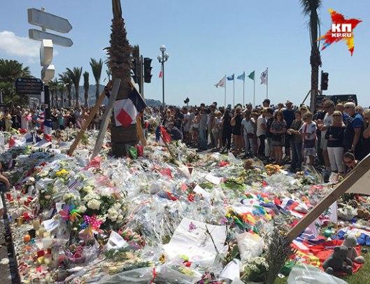 Митинг солидарности са жртвама терористичког напада (Фото: Дарја Асламова)