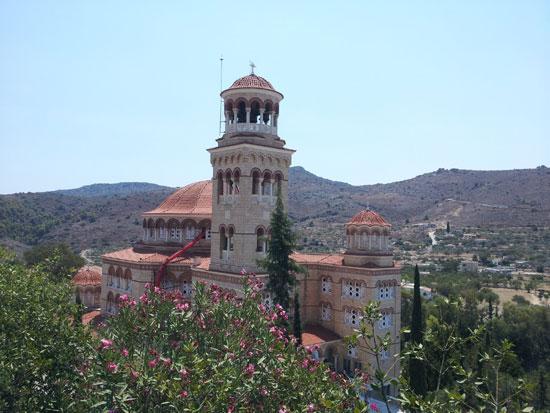 Манастир Светог Нектарија на грчком острву Егина