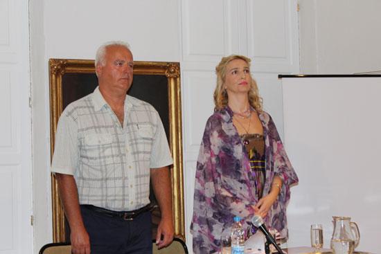 Бранимир Куљанин и Милана Бабић