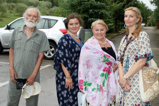 Руски уметници и Милана Бабић