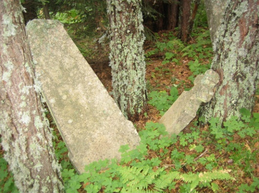 Слика 2. Приказ појединачних нагробних споменика