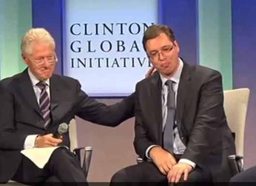 Вучић са Клинтоном - увек на правој страни историје