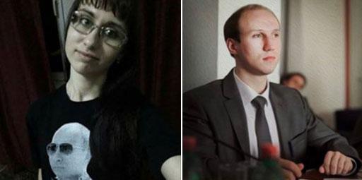 Оксана Сазонова и Сергеј Белоус