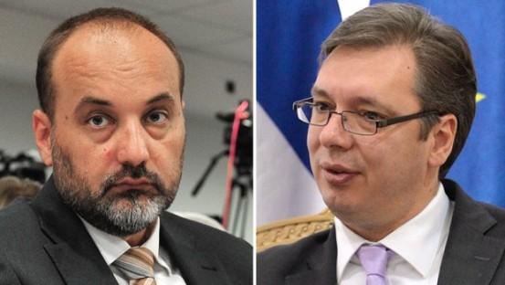 С. Јанковић и А. Вучић
