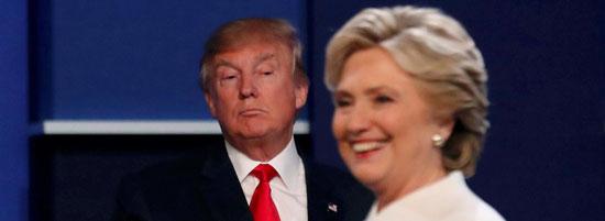 Доналд Трамп и Хилари Клинтон