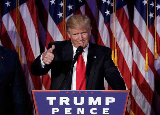 Први говор Доналда Трампа по проглашењу победе (Фото Ројтерс)